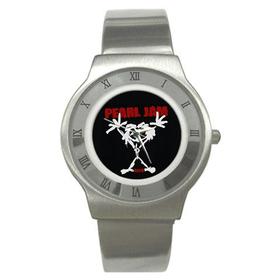 Roman Dial Watch : Pearl Jam - Stickman
