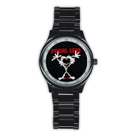 Casual Black Watch : Pearl Jam - Stickman