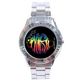 Chrome Dial Watch : Phish