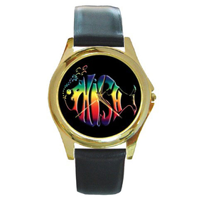 Gold-Tone Watch : Phish