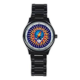 Casual Black Watch : Grateful Dead - Steal Your Face - Sun