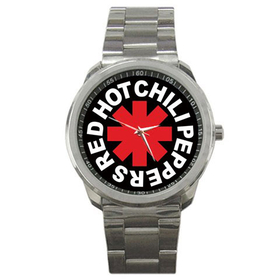 Casual Sport Watch : Red Hot Chili Peppers - RHCP