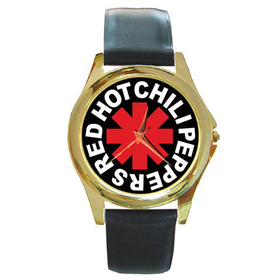 Gold-Tone Watch : Red Hot Chili Peppers - RHCP
