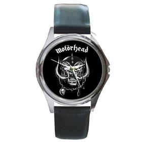 Silver-Tone Watch : Motorhead