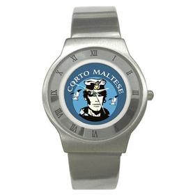 Roman Dial Watch : Corto Maltese