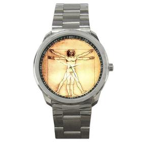 Casual Sport Watch : Leonardo da Vinci - Vitruvian Man