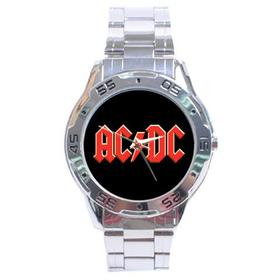 Chrome Dial Watch : AC/DC
