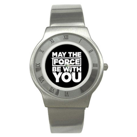 Roman Dial Watch : May The Force Be With You - Star Wars