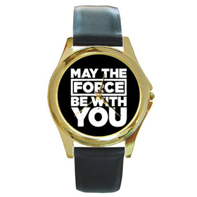 Gold-Tone Watch : May The Force Be With You - Star Wars