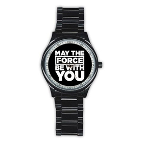 Casual Black Watch : May The Force Be With You - Star Wars