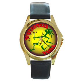 Gold-Tone Watch : Widespread Panic - Note Eater