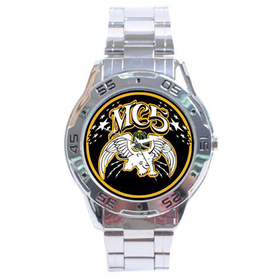 Chrome Dial Watch : MC5