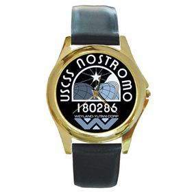 Gold-Tone Watch : USCSS Nostromo