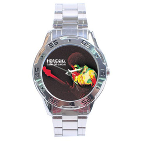 Chrome Dial Watch : Jimi Hendrix - Band of Gypsys