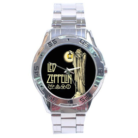 Chrome Dial Watch : Led Zeppelin IV Symbols - Hermit