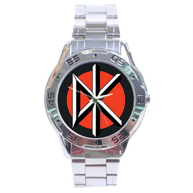 Chrome Dial Watch : Dead Kennedys