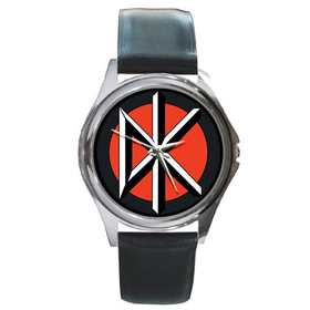 Silver-Tone Watch : Dead Kennedys