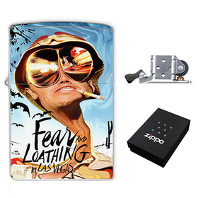 Lighter : Fear and Loathing in Las Vegas - Hunter S. Thompson
