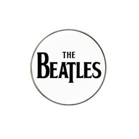 Golf Ball Marker : The Beatles (white-black)