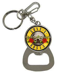 Bottle Opener Keychain : Guns N' Roses