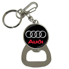 Bottle Opener Keychain : Audi