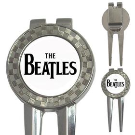 Golf Divot Repair Tool : The Beatles (white-black)