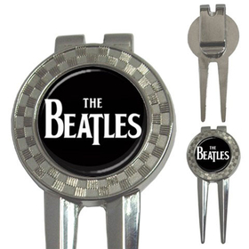 Golf Divot Repair Tool : The Beatles (black-white)