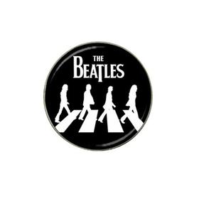 Golf Ball Marker : The Beatles - Abbey Road (black-white)