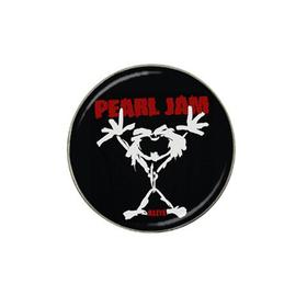 Golf Ball Marker : Pearl Jam - Stickman - Alive (black-white)