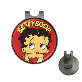 Golf Hat Clip with Ball Marker : Betty Boop