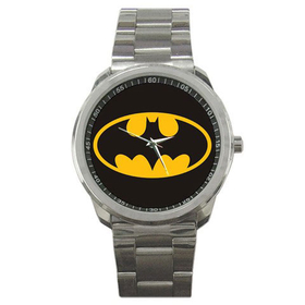Casual Sport Watch : Batman Shield