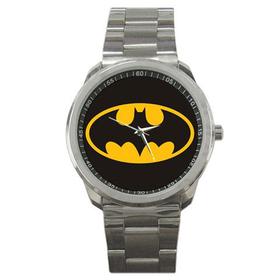 Casual Sport Watch : Batman Shield