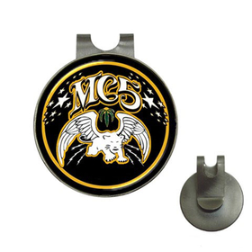 Golf Hat Clip with Ball Marker : MC5