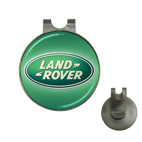 Golf Hat Clip with Ball Marker : Land Rover