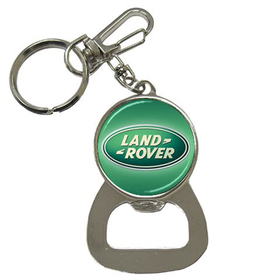 Bottle Opener Keychain : Land Rover