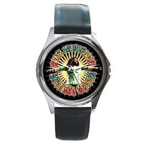 Silver-Tone Watch : Bob Marley - Natural Mystic