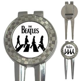 Golf Divot Repair Tool : The Beatles - Abbey Road (white-black)