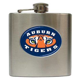Liquor Hip Flask (6oz) : Auburn Tigers