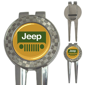 Golf Divot Repair Tool : Jeep