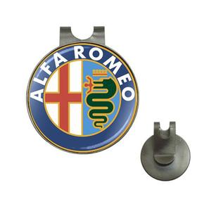Golf Hat Clip with Ball Marker : Alfa Romeo