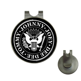 Golf Hat Clip with Ball Marker : Ramones