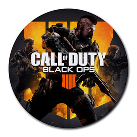 Mousepad (Round) : Call of Duty - Black Ops