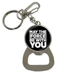 Bottle Opener Keychain : May The Force Be With You - Star Wars