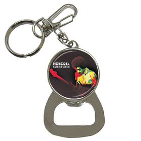 Bottle Opener Keychain : Jimi Hendrix - Band of Gypsys