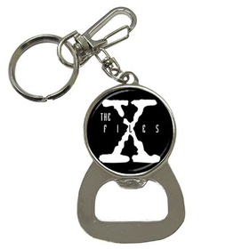 Bottle Opener Keychain : X-Files