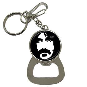 Bottle Opener Keychain : Frank Zappa