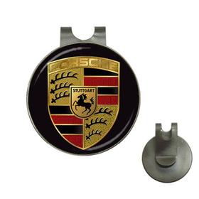Golf Hat Clip with Ball Marker : Porsche