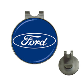 Golf Hat Clip with Ball Marker : Ford