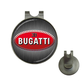 Golf Hat Clip with Ball Marker : Bugatti