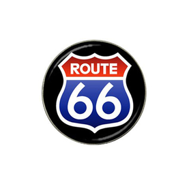 Golf Ball Marker : Route 66